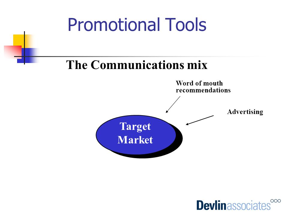 The Communications mix