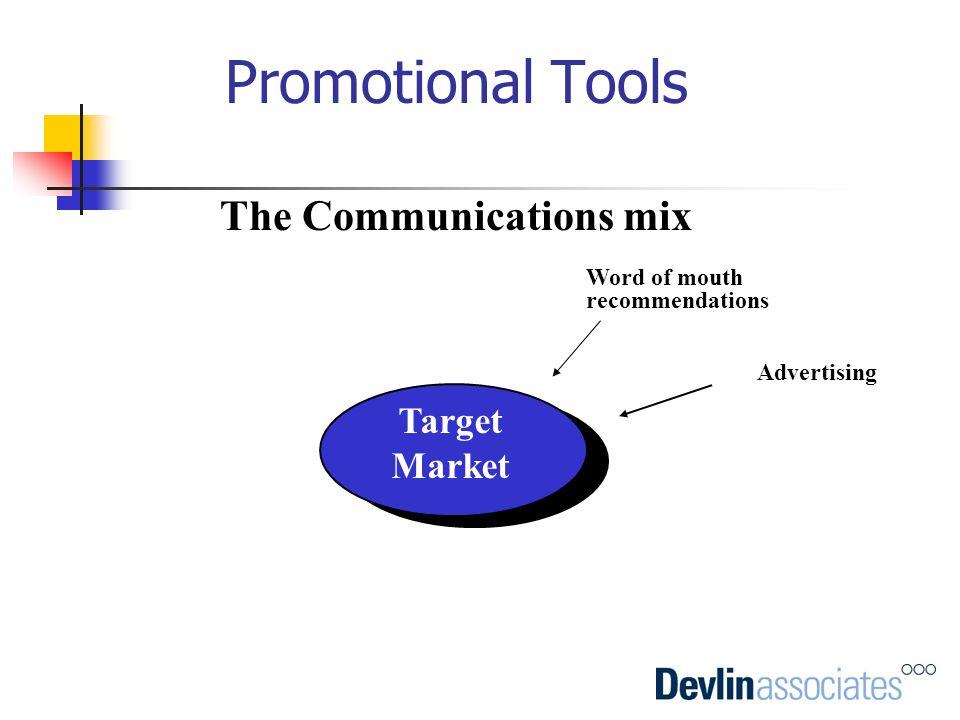 The Communications mix