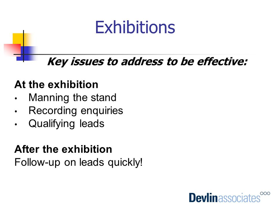 Key issues to address to be effective: