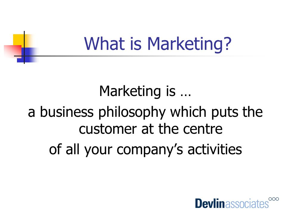 What is Marketing Marketing is …