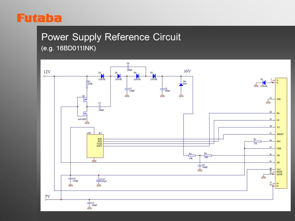 Power Supply Reference Circuit