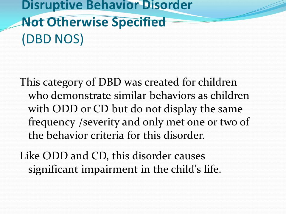 case study of a child with emotional behavioral disorder