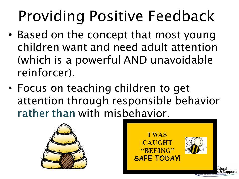 Providing Positive Feedback