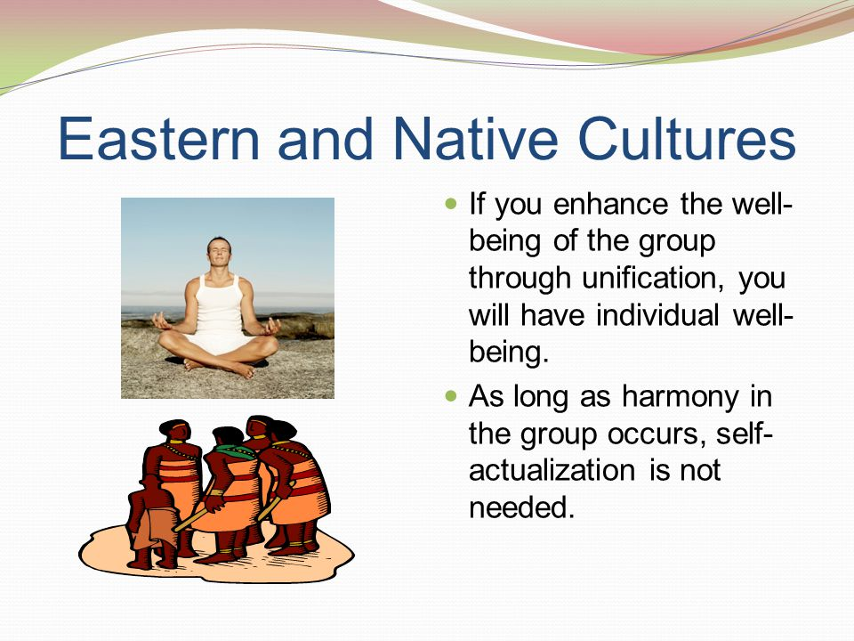 Eastern and Native Cultures