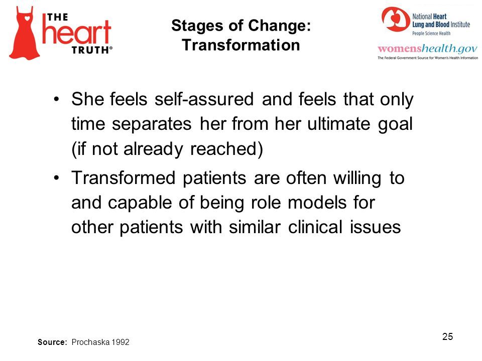 Stages of Change: Transformation