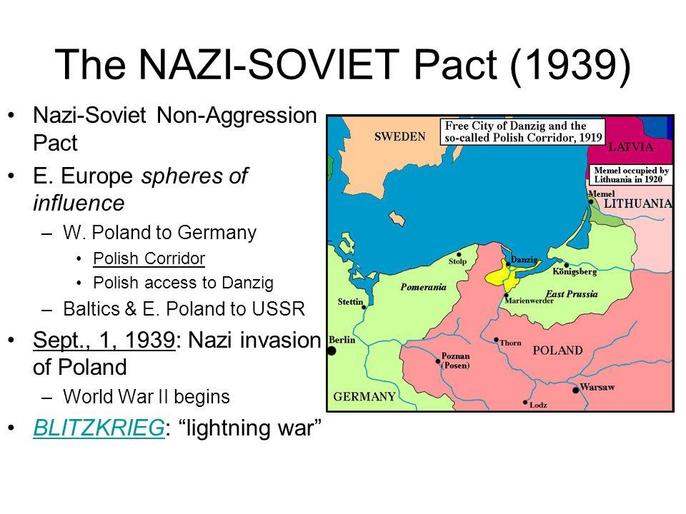The NAZI-SOVIET Pact (1939)