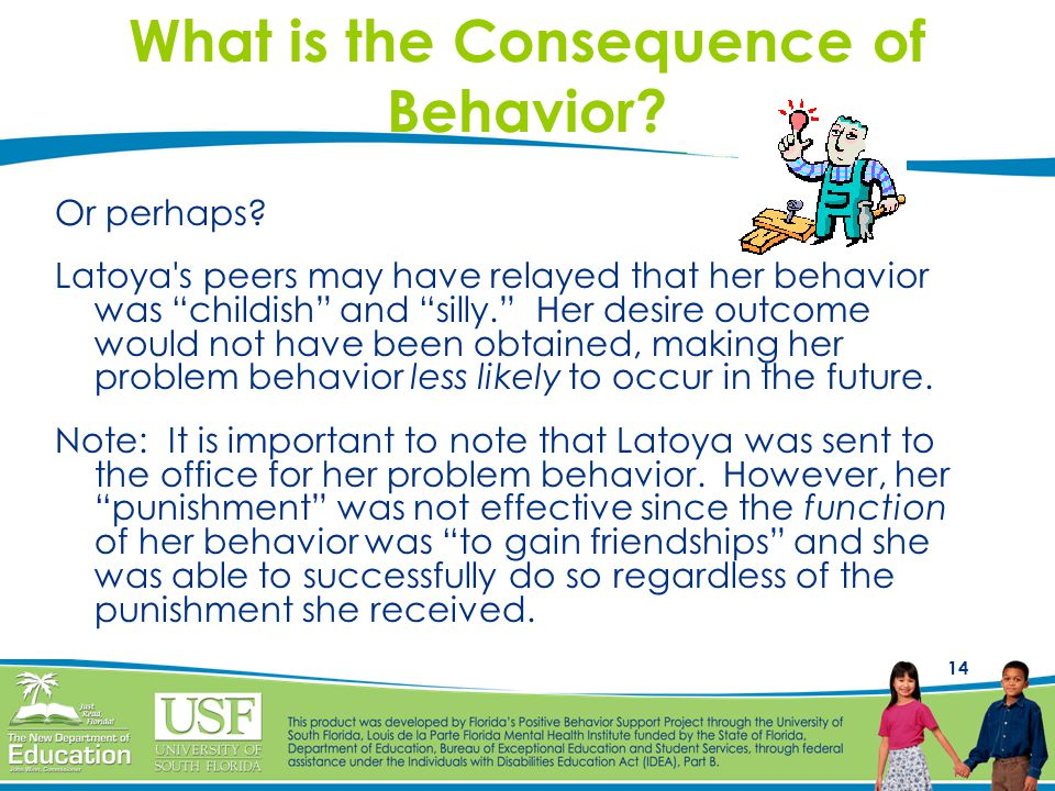 What is the Consequence of Behavior