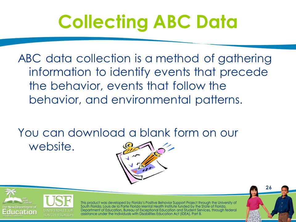 Collecting ABC Data