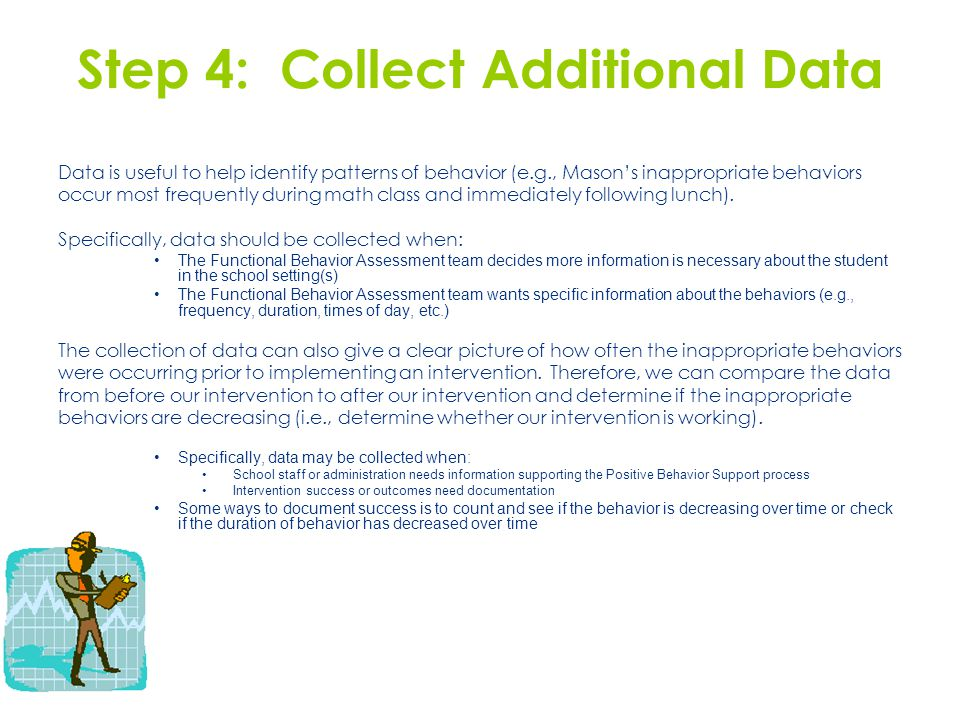 Step 4: Collect Additional Data