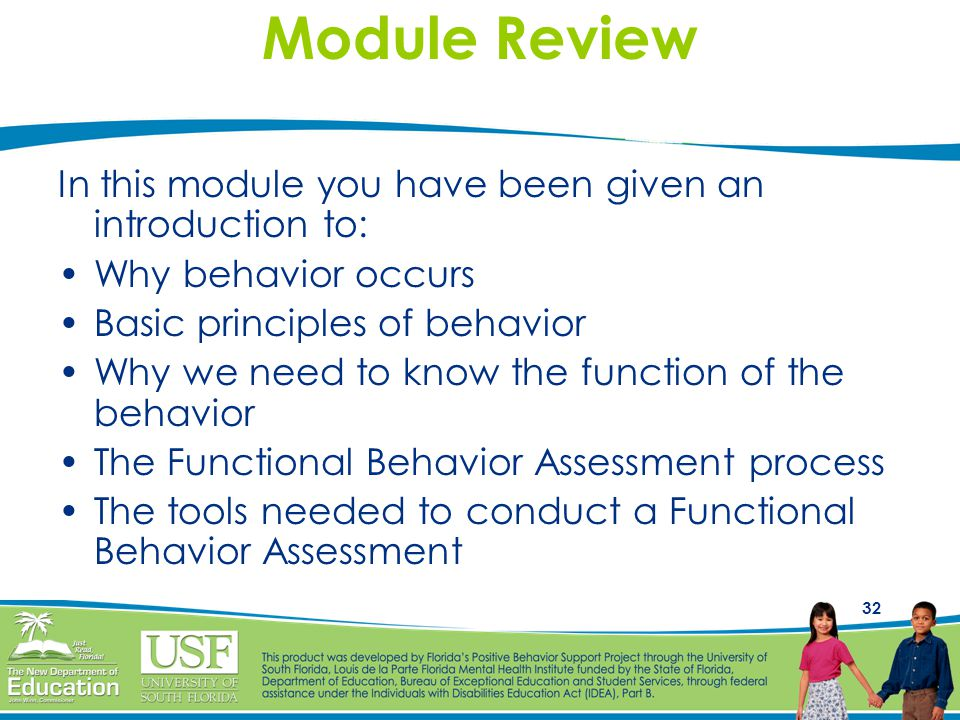 Module Review In this module you have been given an introduction to: