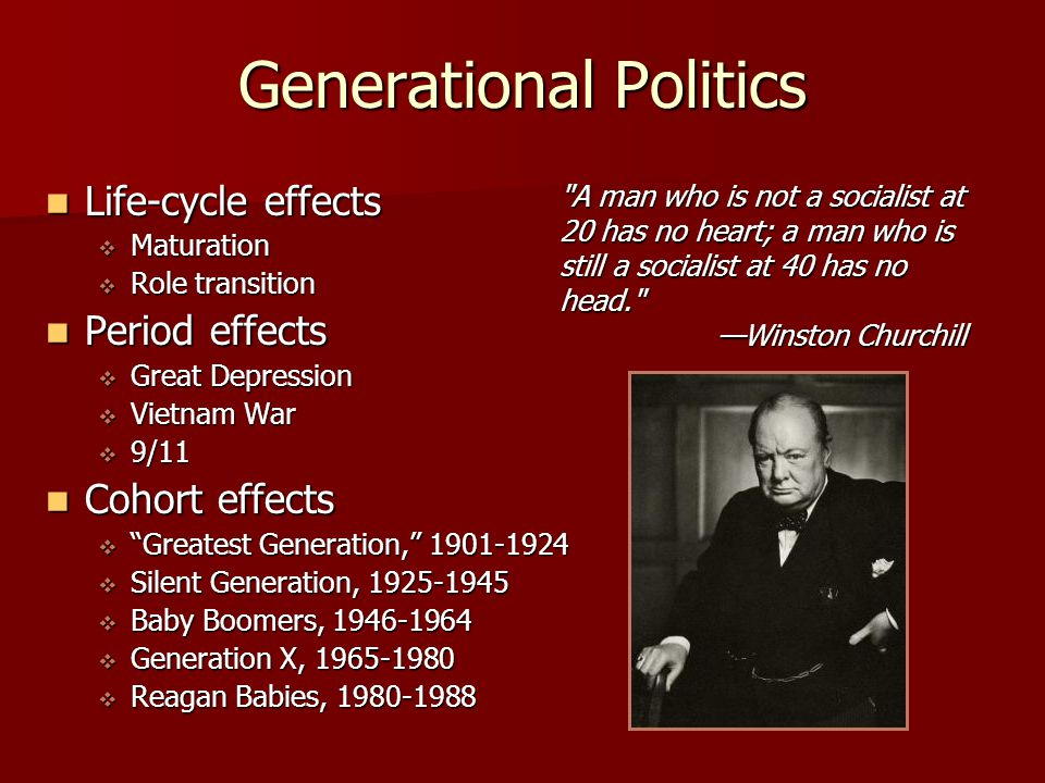 Generational Politics