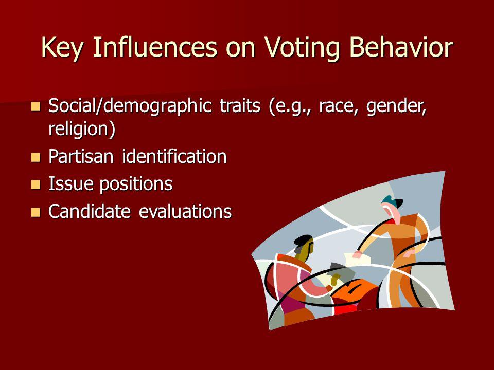 Key Influences on Voting Behavior