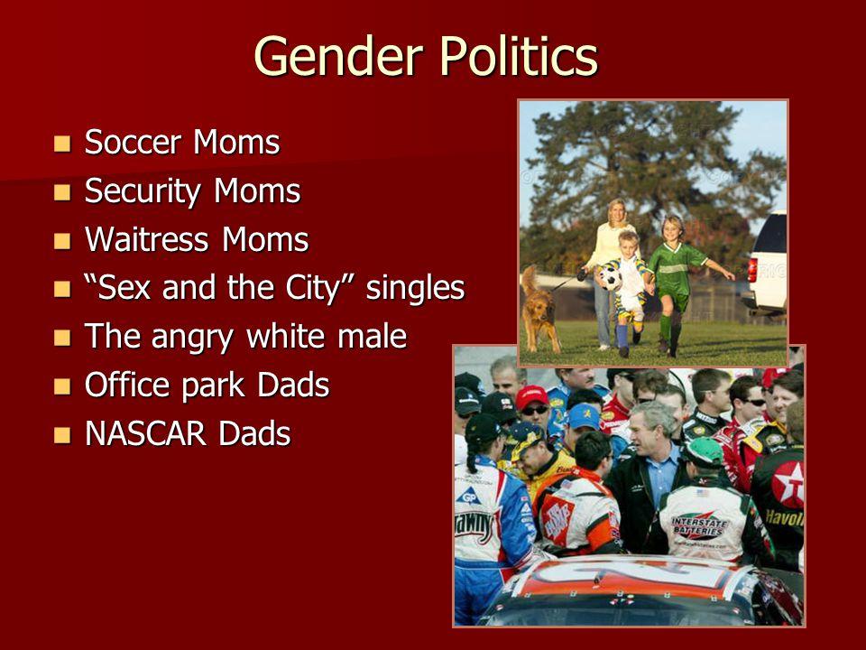 Gender Politics Soccer Moms Security Moms Waitress Moms