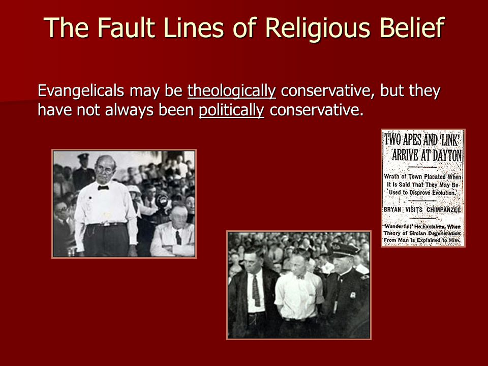 The Fault Lines of Religious Belief