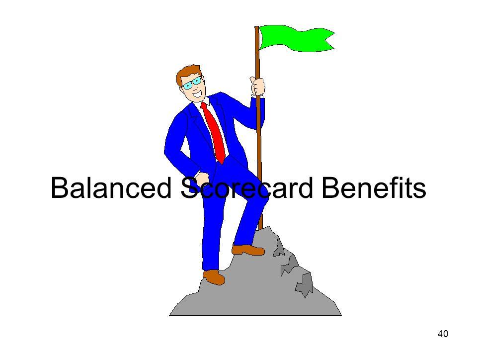 Balanced Scorecard Benefits