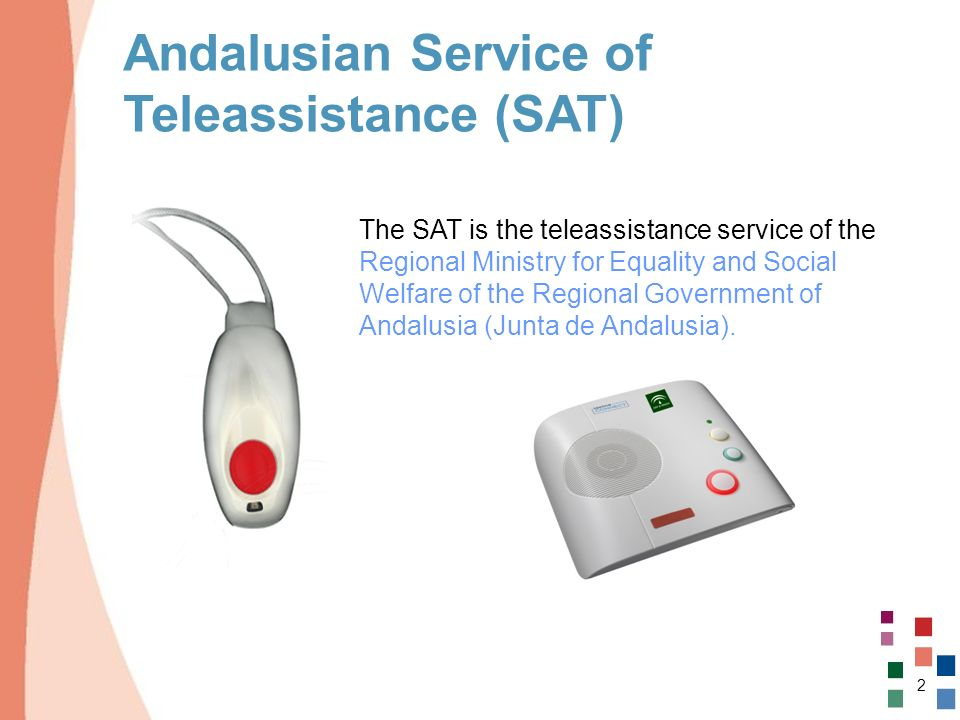 Andalusian Service of Teleassistance (SAT)