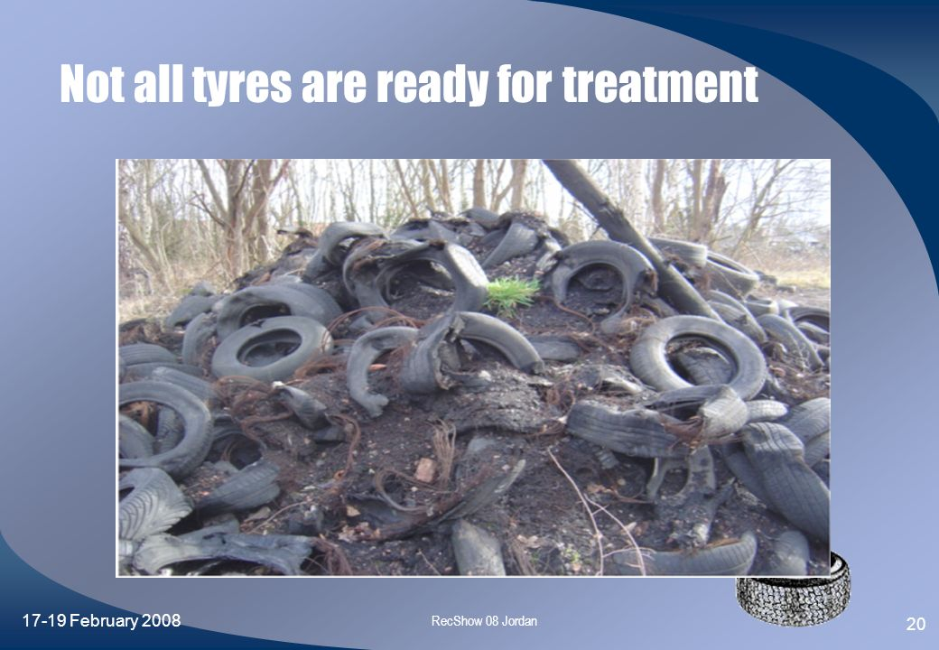 Not all tyres are ready for treatment