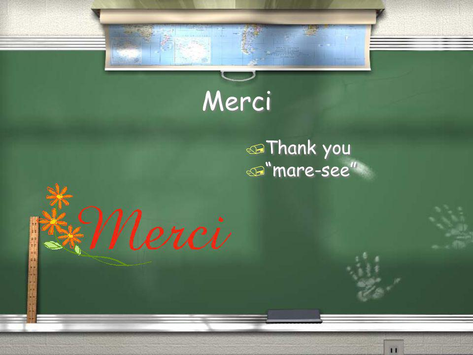 Merci Thank you mare-see