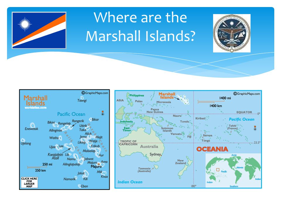 Where are the Marshall Islands