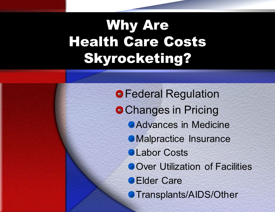 Why Are Health Care Costs Skyrocketing