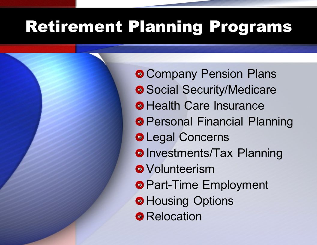 Retirement Planning Programs