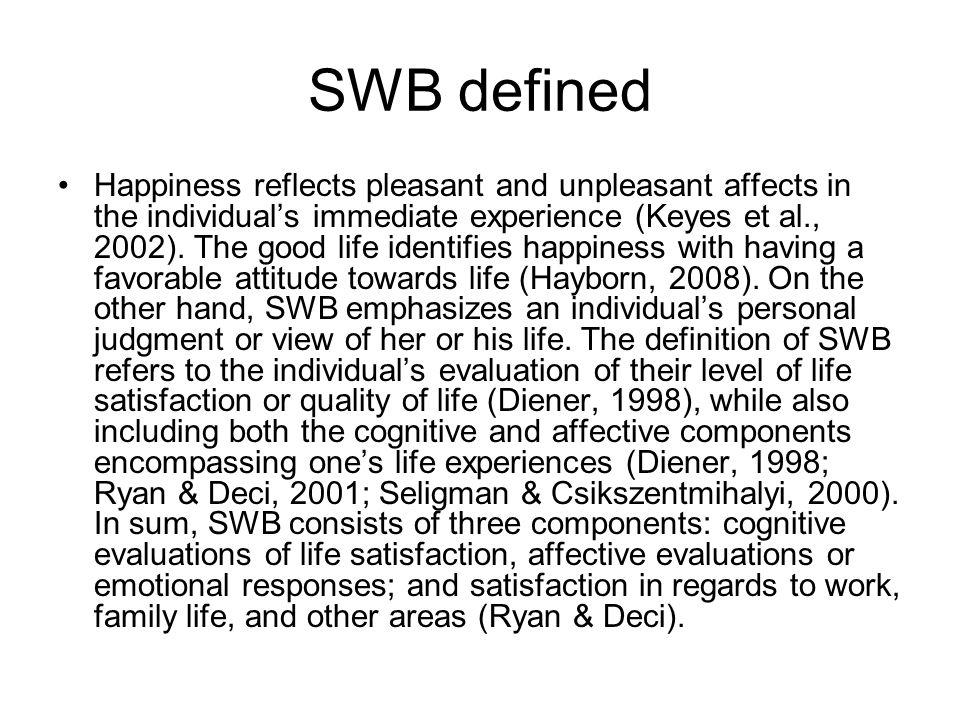 SWB defined