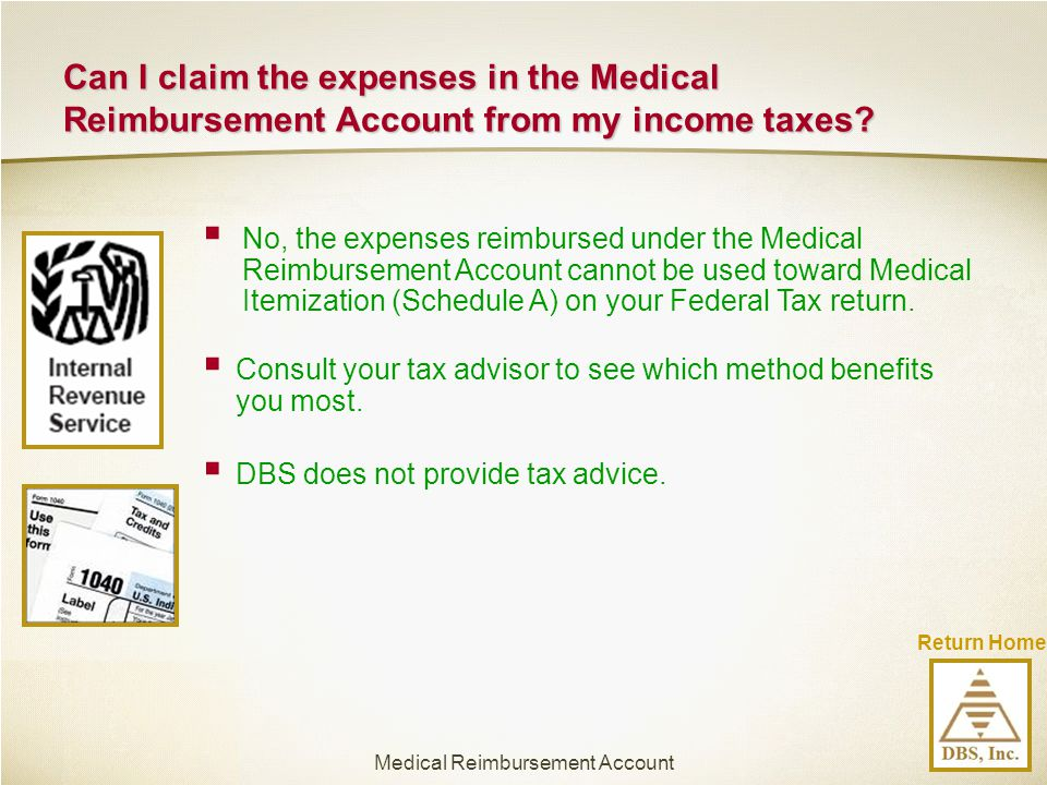 Medical Reimbursement Account