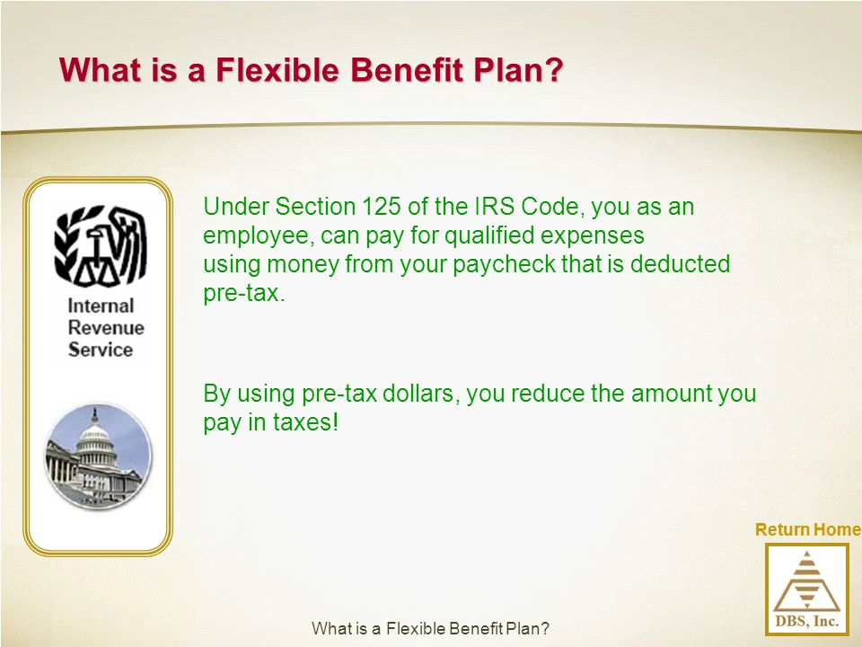 What is a Flexible Benefit Plan