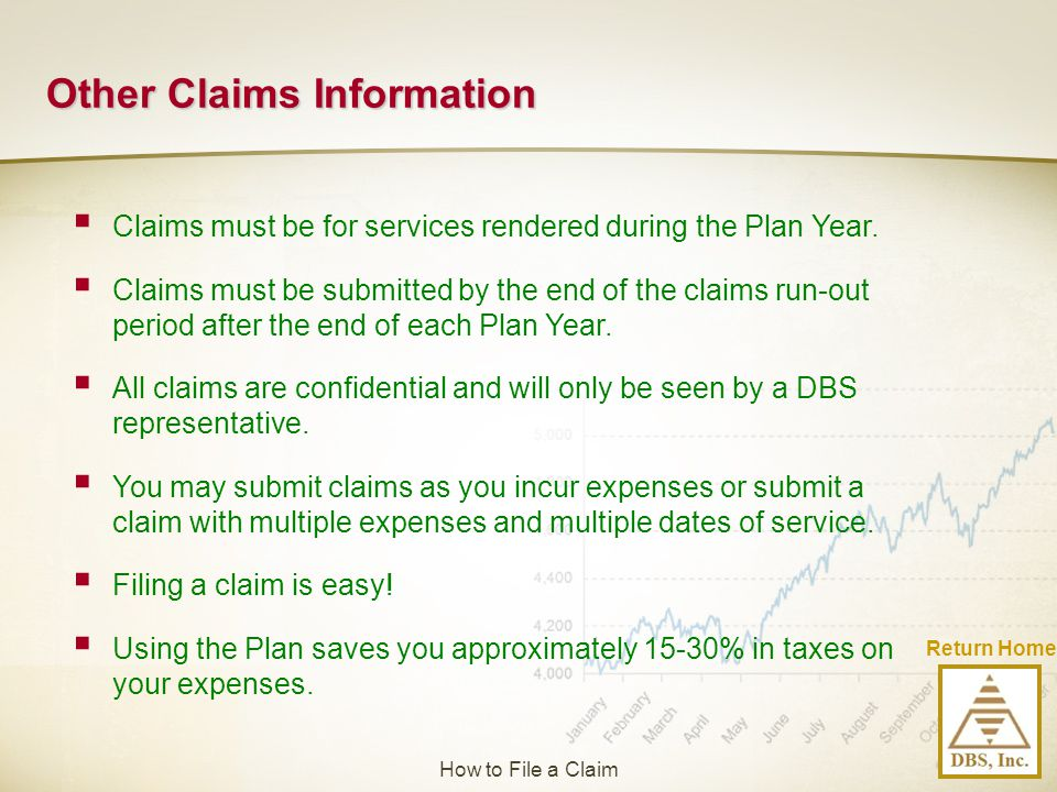 Other Claims Information