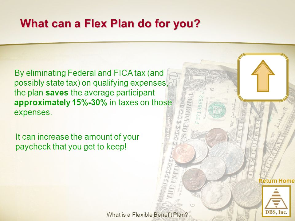 What can a Flex Plan do for you