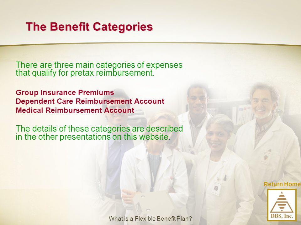 The Benefit Categories