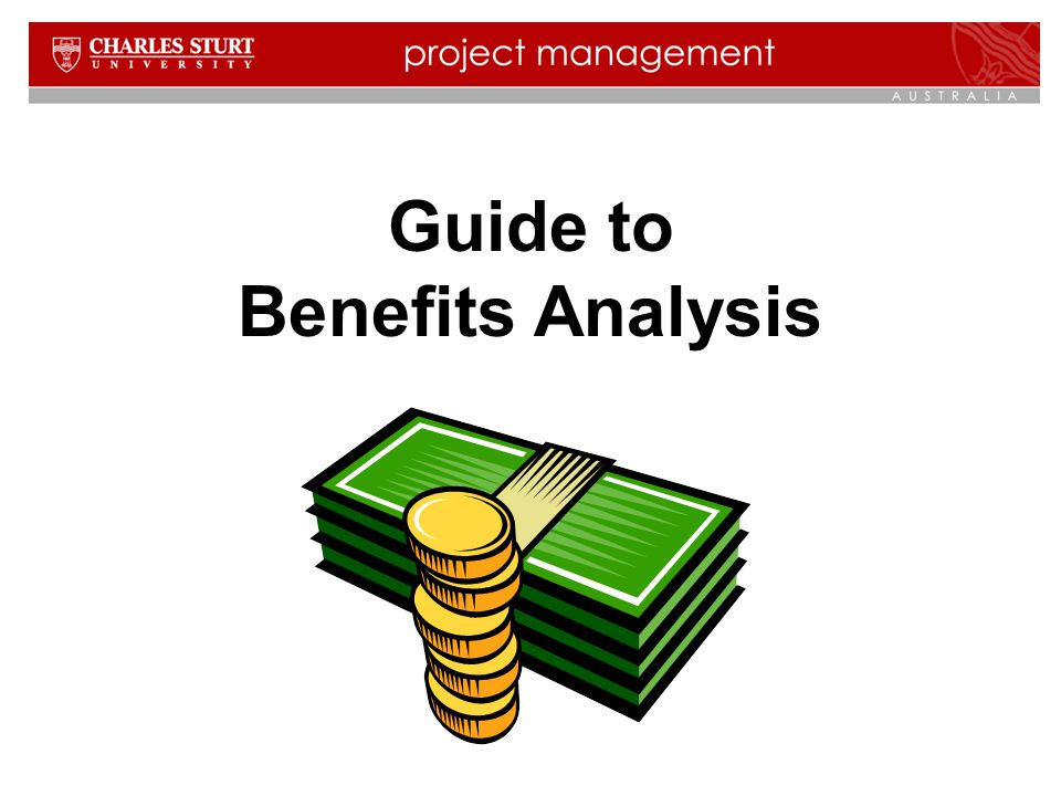 Guide to Benefits Analysis