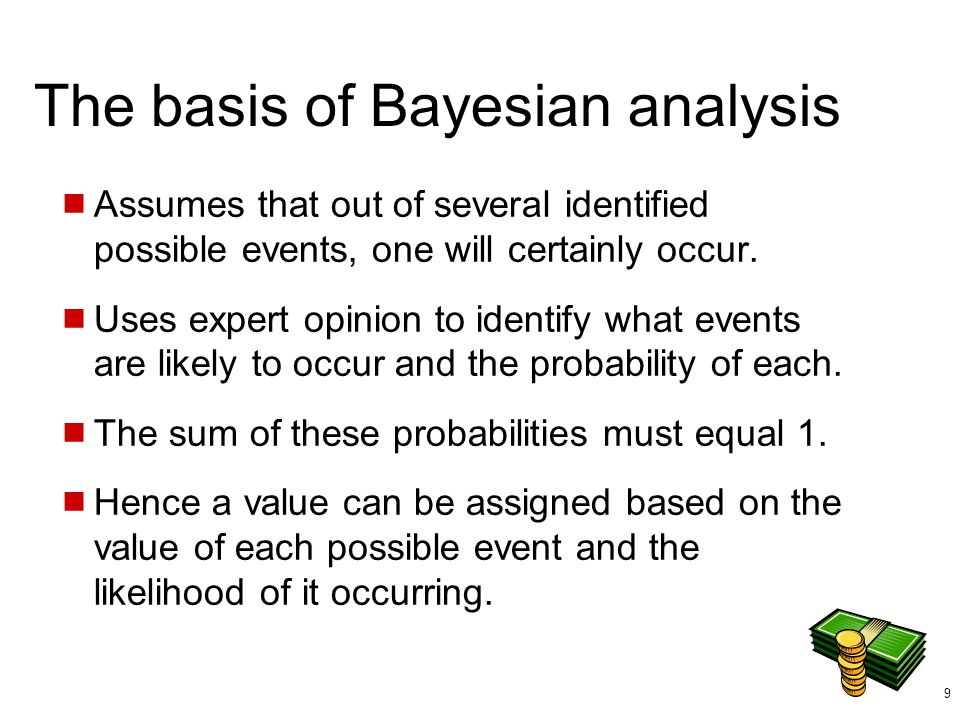 The basis of Bayesian analysis
