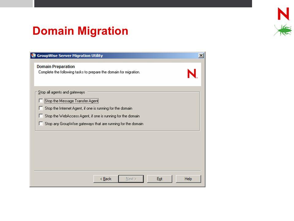Domain Migration