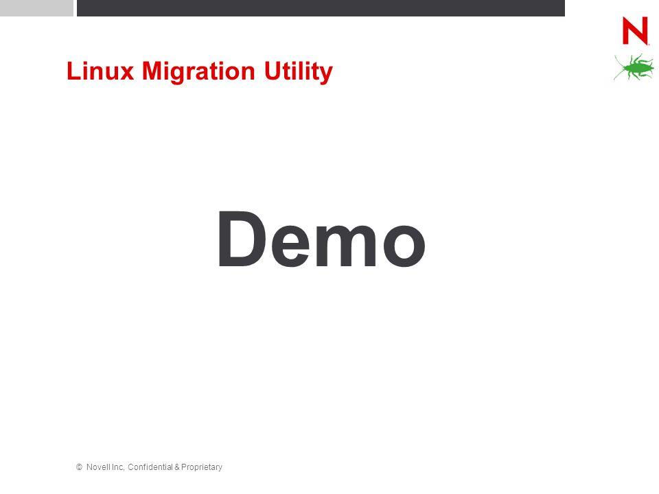 Linux Migration Utility