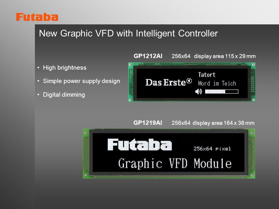 New Graphic VFD with Intelligent Controller