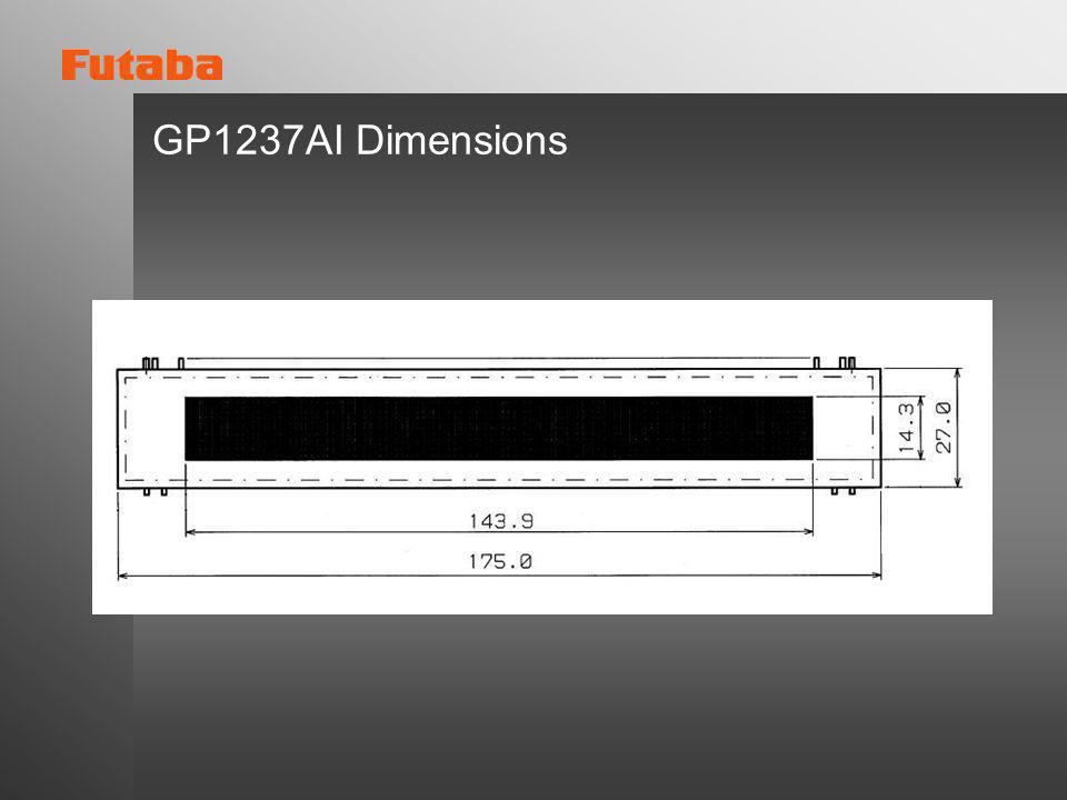 GP1237AI Dimensions
