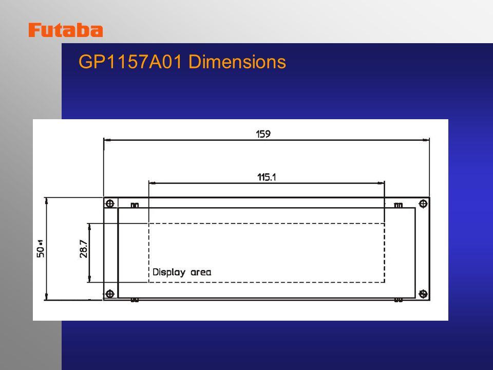 GP1157A01 Dimensions