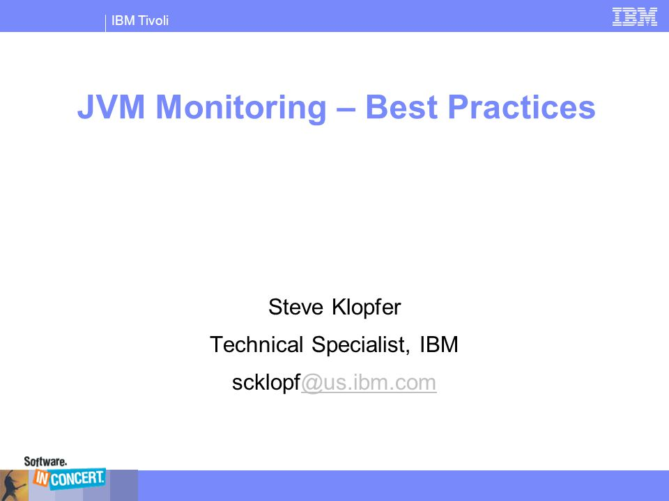 JVM Monitoring – Best Practices