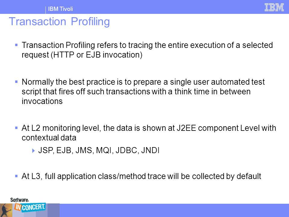 Transaction Profiling
