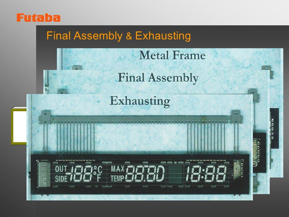 Final Assembly & Exhausting