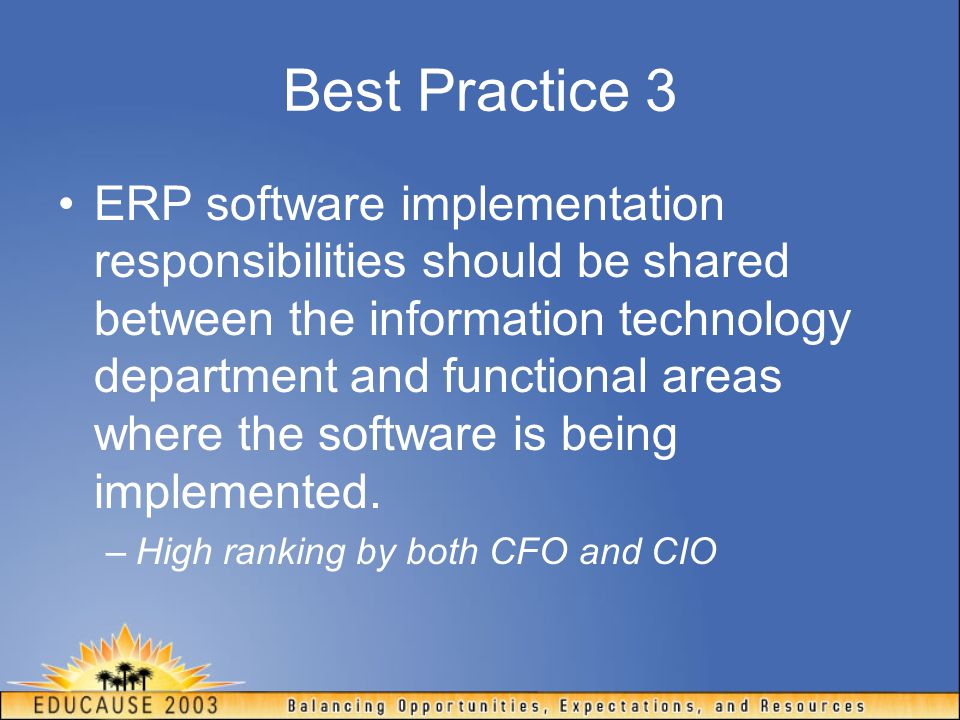 Best Practice 3