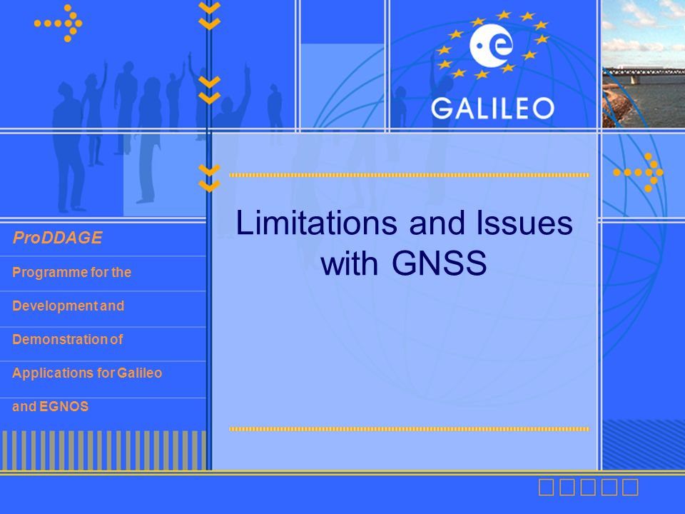 Limitations and Issues with GNSS