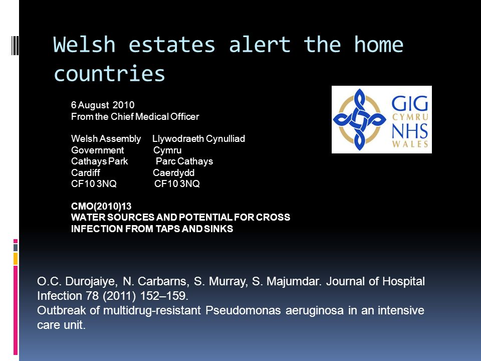 Welsh estates alert the home countries
