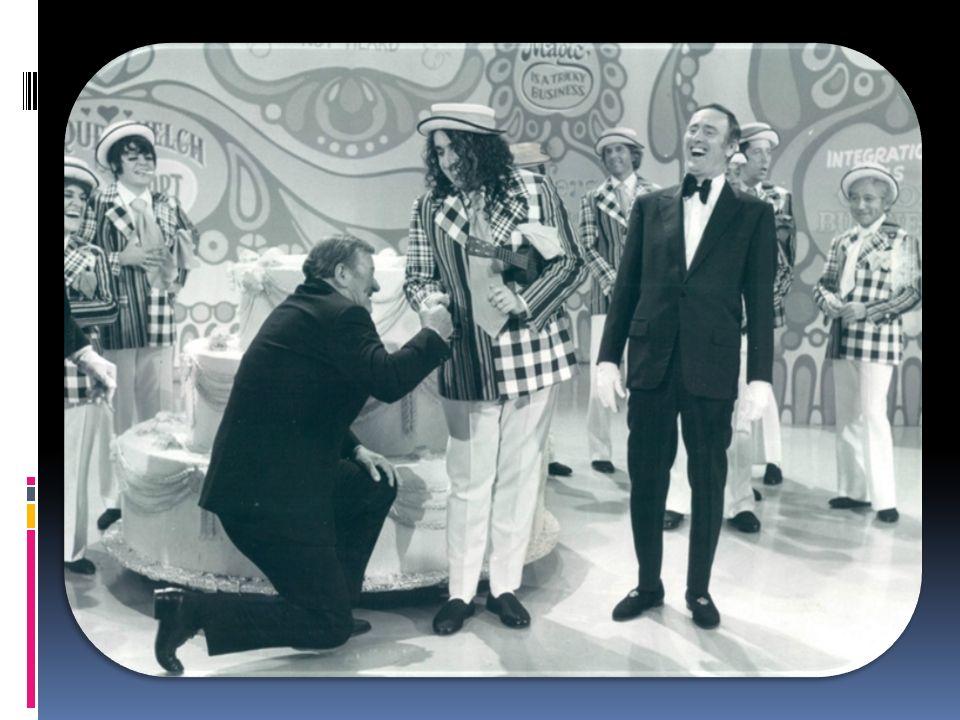 John Wayne and Tiny Tim