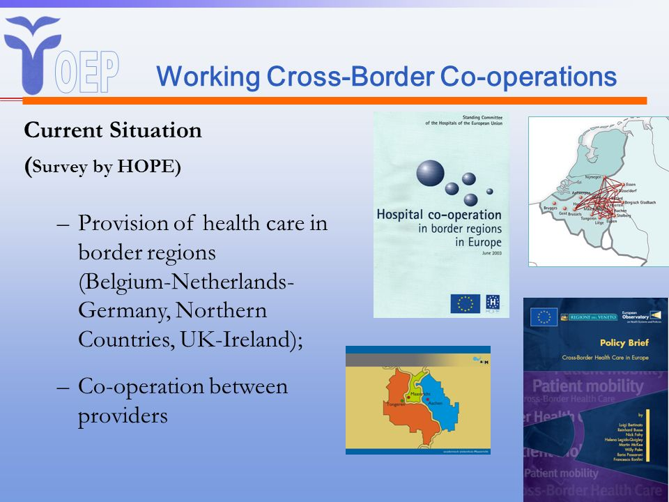 Working Cross-Border Co-operations