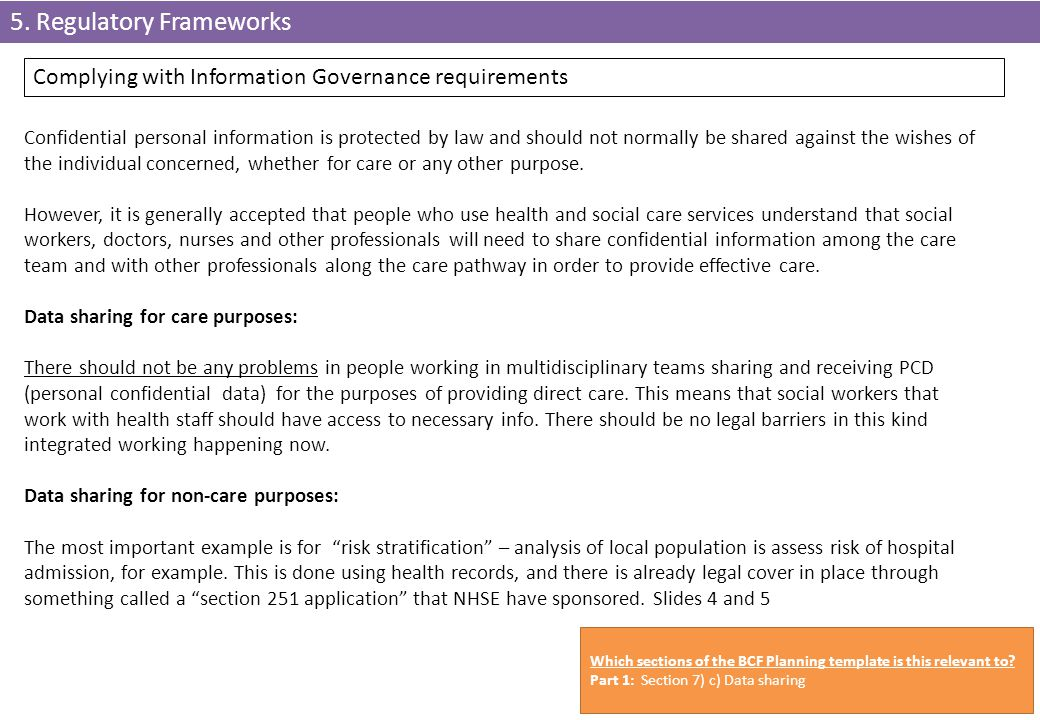 5. Regulatory Frameworks