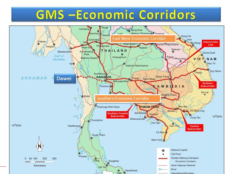GMS –Economic Corridors