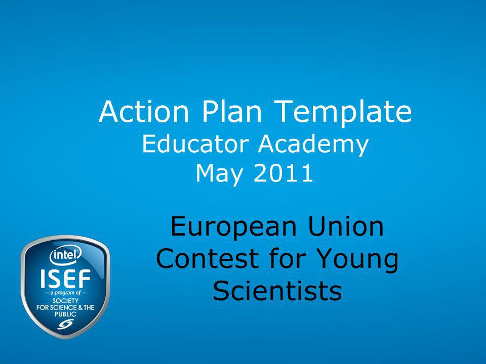 Action Plan Template Educator Academy May 2011