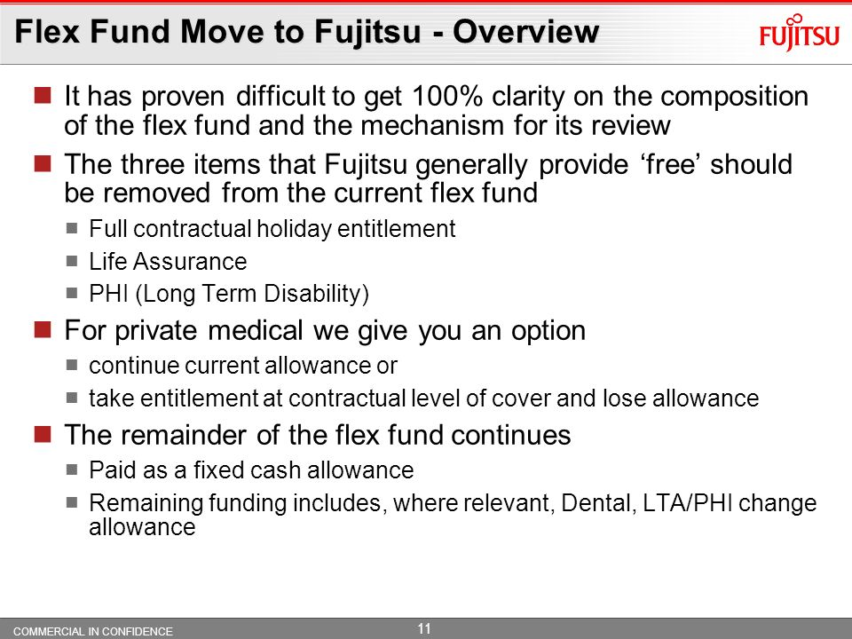 Flex Fund Move to Fujitsu - Overview